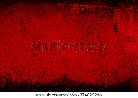 Grunge  texture, wall in a red tone