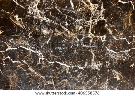 Grunge textured knowledge in brown colors in the form of filaments - stock photo