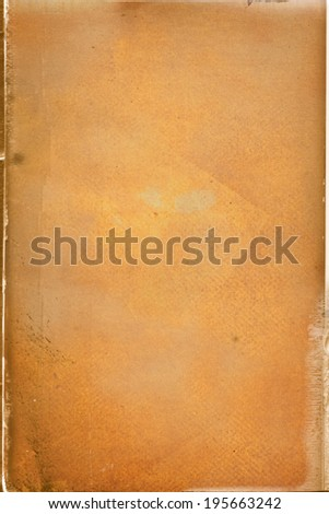 grunge vibrant  paper background with scratches - stock photo