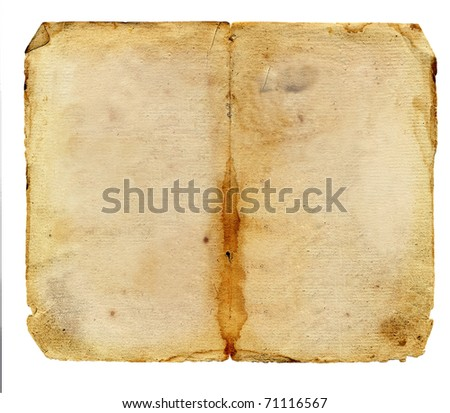Grunge vintage old paper - stock photo