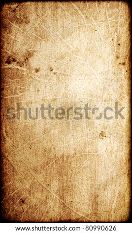 Grunge vintage old paper texture - stock photo