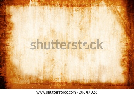 Grunge vintage photo frame background. - stock photo