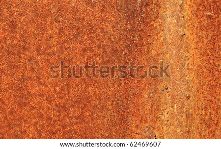 grunge vintage rusty metal plate texture, background image - stock photo