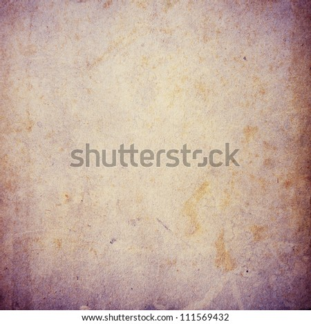grunge violet paper texture, distressed background - stock photo