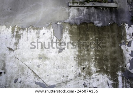 Grunge wall great for use as a background in your design. - stock photo