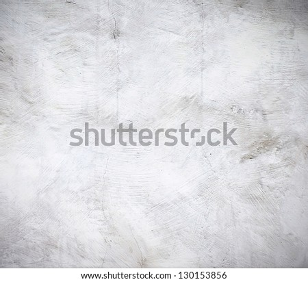 Grunge wall in industrial building - stock photo