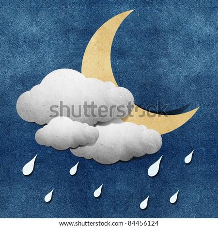 Grunge Weather - stock photo