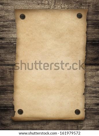 Grunge western blank poster background - stock photo