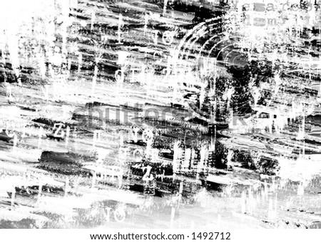 grunge white texturize background - stock photo