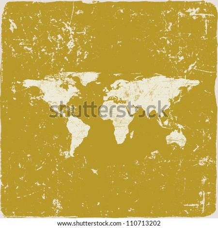 Grunge world map background abstract old vectores en stock 616850486 grunge world map background gumiabroncs Gallery