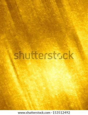 grunge yellow background with some spots and stains on it - stock photo