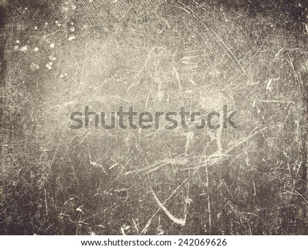 Grungy Abstract  background or textured backdrop with spotlight and scratches. Old Background for your design, print, wallpaper, web, dark gradient, ad.  - stock photo