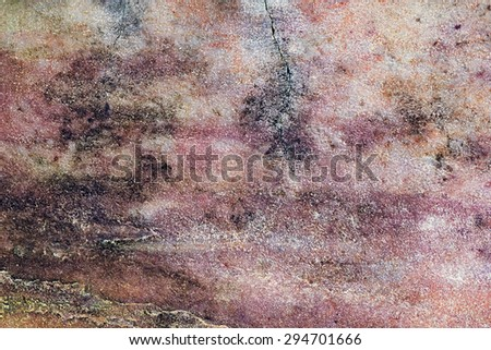 Grungy aged wall texture color background cracked look - stock photo