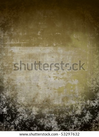 grungy  aging wall background. More of this  motif & more backgrounds in my port. - stock photo
