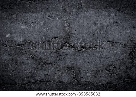 Grungy and smooth bare stone wall for background - stock photo
