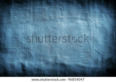 grungy blue vintage background with artistic shadows added