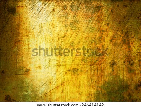 grungy color wall background - stock photo