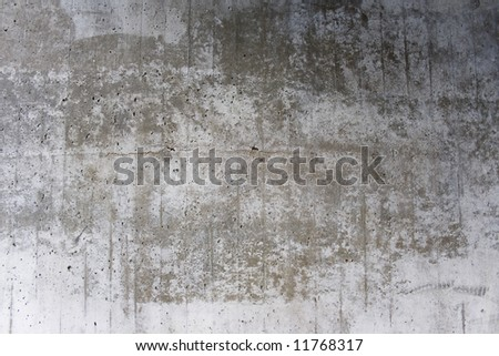 Grungy concrete texture for background - stock photo
