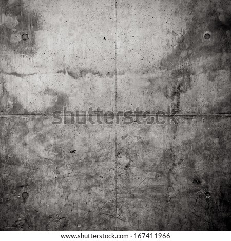 Grungy concrete wall as a background texture - stock photo