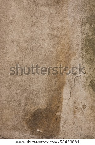 Grungy concrete wall texture - stock photo