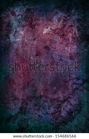 Grungy Dark Background Blue and Purple - stock photo