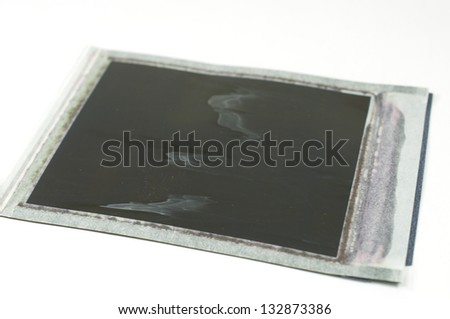 Grungy Instant Photo Frame