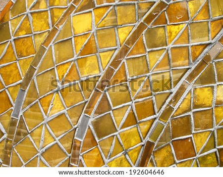 Grungy mosaic background - stock photo