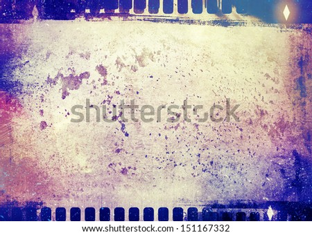 Grungy photo texture - stock photo