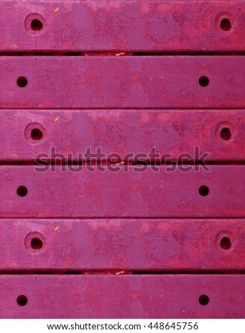Grungy Pink Plate Metal Background
