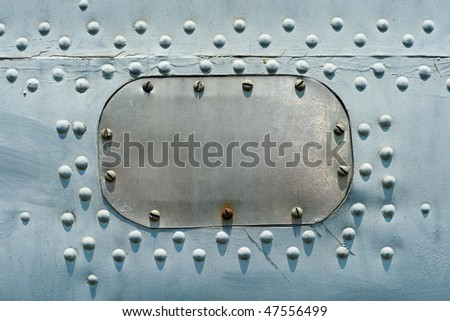 Grungy rusty metallic industrial background