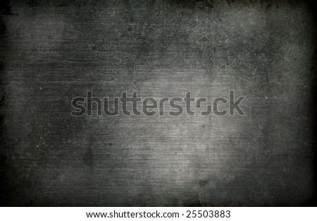 grungy scratched metal background - stock photo