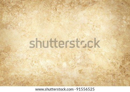 Grungy sepia mottled background surface texture - stock photo