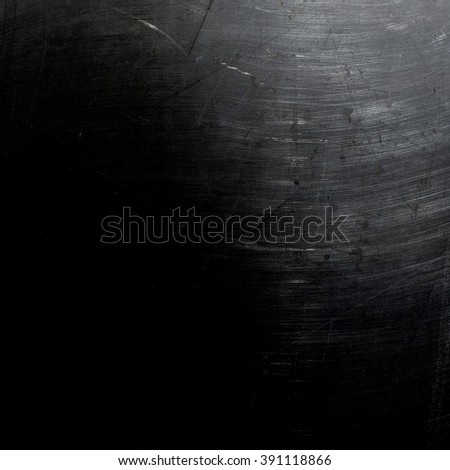 Grungy stainless steel surface - stock photo