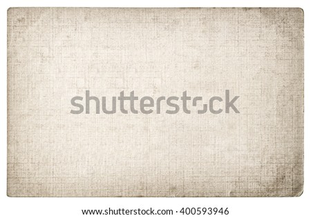Grungy textured paper background. Cardboard with edges. - stock photo
