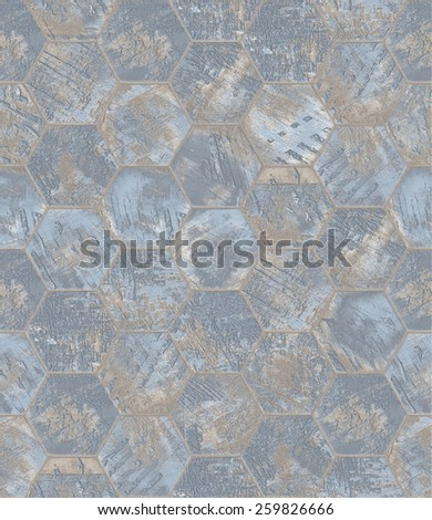 Grungy Textured Tiled Background  - stock photo