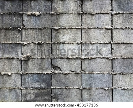 Grungy urban background of a brick old grungy texture grey concrete wall texture patterns vintage