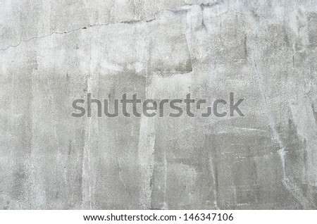 grungy white cement background - stock photo