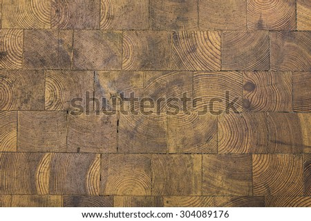 grungy wooden floor background texture - stock photo