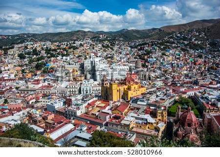 Guanajuato on a sunny afternoon, Mexico