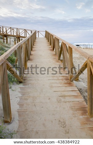 Guardamar del Segura beach Alicante Spain