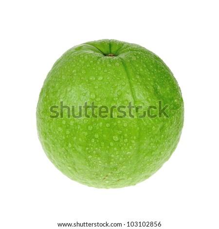 Guava in studio - isolated. - stock photo