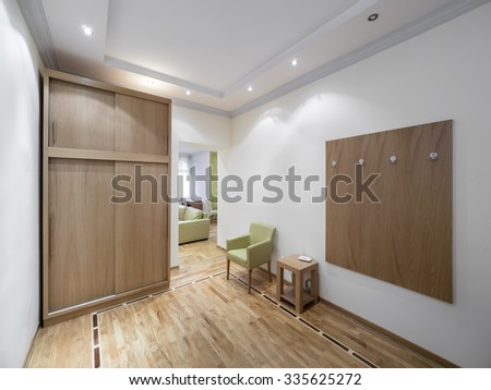 Guest house entrance - stock photo