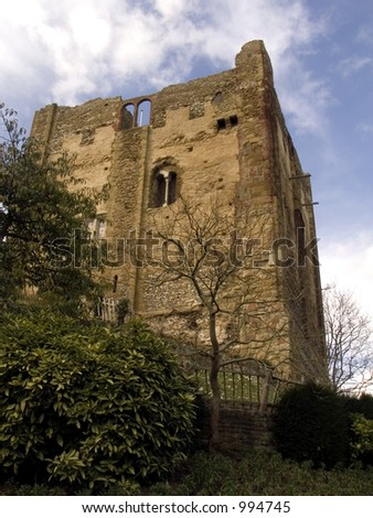 Guildford Castle, England - stock photo