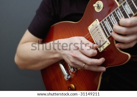Guitar solo on a Gibson Les Paul