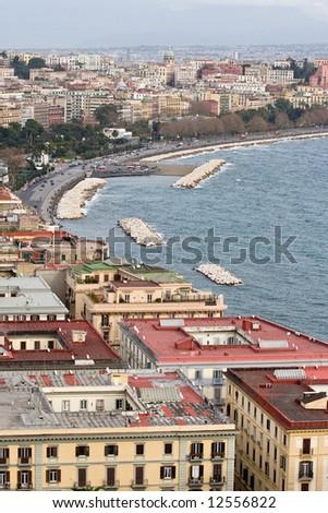 Gulf of Naples - stock photo