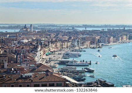 Gulf of Venice, Venice, Italy - stock photo