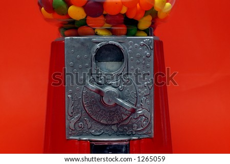 Gumball Closeup - stock photo