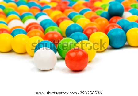 gummy ball candies for background uses