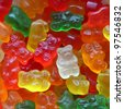 Gummy bears Candy - stock photo