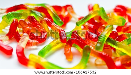 Gummy Candy - stock photo